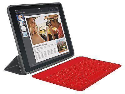Logitech Keys To Go Wireless Bluetooth Keyboard for Apple TV iPad iPhone -RED