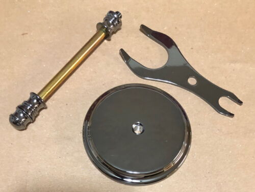 Artisan Razor and Shaving Brush Stand Kit Gunmetal - Wood Turning Kit