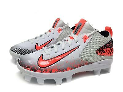 8d71bf2776a27 Nike Kids Trout 3 Pro Baseball Cleats - White Neon Black - Size 4.5Y - NIB
