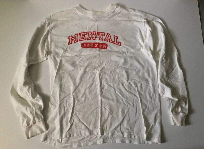 Vintage Mental Hardcore/Punk Long Sleeve Shirt Boston ~ Men's Medium