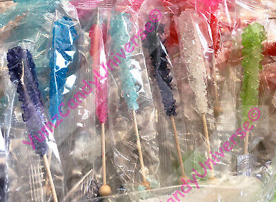 Rock Candy Crystal/Swizzle Sticks! 7/1 oz ea Choose Flavor(s) Free Shipping!](Crystal Rock Candy)