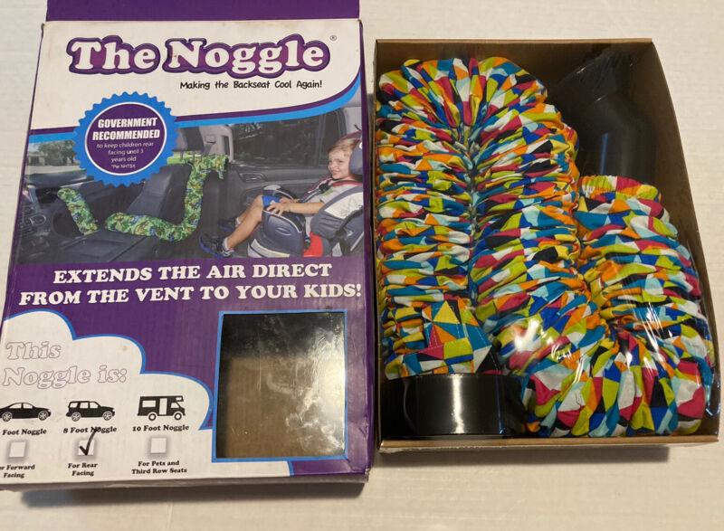 NIB Noggle 8 foot for rear facing air vent extender Kaleidoscope