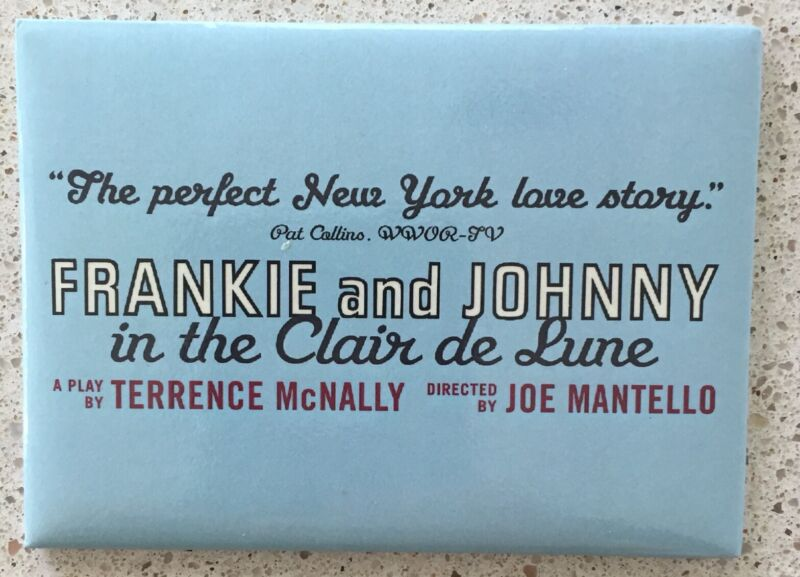 Magnet from The Frankie and Johnny Revival In 2002 Broadway Excellent Condition