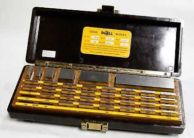 Doall Set 34-s Precision Gage Block Set 13770