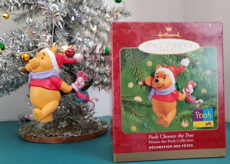 Hallmark Keepsake Ornament 2000 Pooh Chooses the Tree Winnie the Pooh Collection
