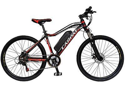 Bicicleta eléctrica MTB (E-BIKE) CARPAT C1001E, rueda de 26 pulgadas, 60-80 km