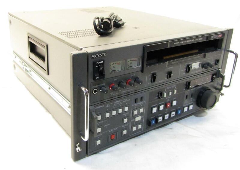 Sony PVW-2800 Video Cassette Recorder | Betacam SP