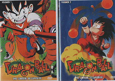 DRAGON BALL DVD Vol 1 y V....<br>