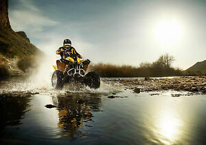 QUAD-BIKE-QUADBIKE-MOTOCROSS-MOTORCROSS-Photo-Poster-Print-Art-3-A2-A3-A4