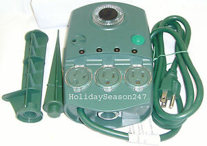Christmas Holiday Light Effect Light Show Controller Blinker LightShow W Timer