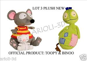 LOT-NEW-TOOPY-10-AND-BINOO-4-PATCHY-PATCH-12-PLUSH-DOLL-STUFFED-ANIMAL-SOFT