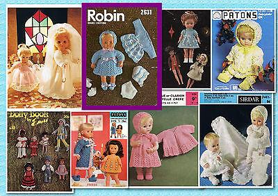 Шаблоны 200+ Vintage Doll CROCHET &