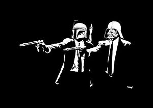 PULP-FICTION-STAR-WARS-FILM-MOVIE-Photo-Poster-Print-Art-A2-A3-A4