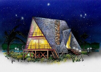 A-frame 26 X 34 Customizable Shell Kit Home Delivered Ready To Build