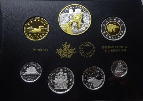 """2019 Canada Silver Proof Set - """"75th Anniv. of D-Day"""" - Box & COA"""