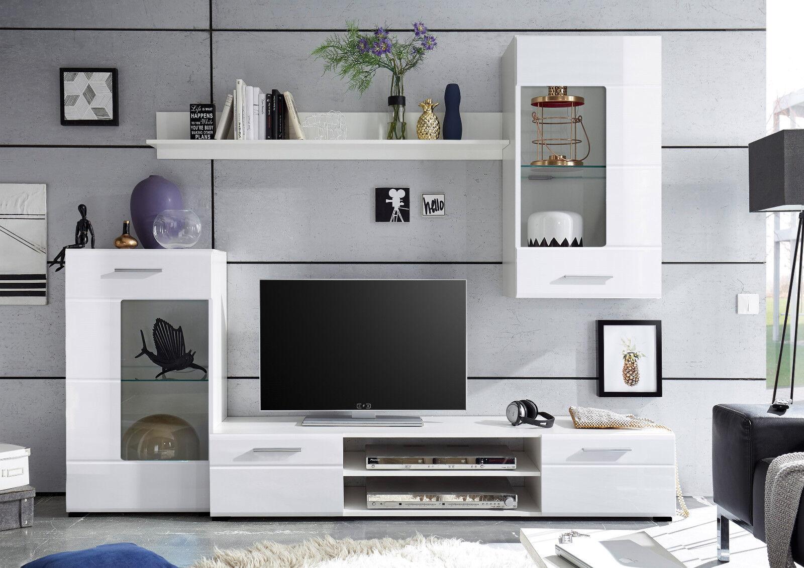 Hochglanz Wohnwand Test Vergleich Hochglanz Wohnwand Gunstig Kaufen