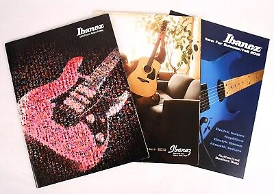 Used, Ibanez Electric, Acoustic, Summer Fall 2012 Dealers Catalog Set, Guitars Amps for sale  Ocean City