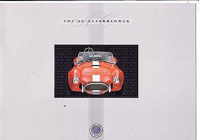 AC Cobra Superblower brochure - 1998 - mint