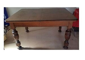 Solid Antique Dining Table Stanmore Marrickville Area Preview