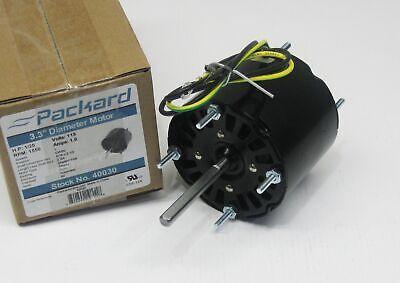 Packard Electric Fan Motor 40030 125 Hp 1550 Rpm 115 Volts Ue-30