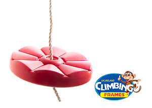 Half-Price-RED-Button-disc-monkey-round-swing-seat-RRP-24-95-Great-Value