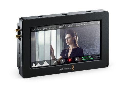 "Blackmagic Video Assist 5"" LCD monitor/recorder - OPEN BOX - full warranty"