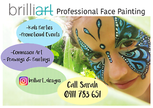 Face Painting - Parties & Events Yandina Maroochydore Area Preview