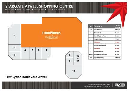 Stargate Atwell Shopping Centre - Shops 6 & 8 Atwell Cockburn Area Preview