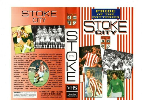 STOKE+CITY+PRIDE+OF+THE+POTTERIES+DVD
