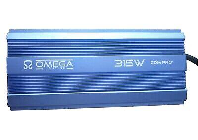 Omega 315W 240V CDM PRO+ Digital Ballast Hydroponics Light Kit Grow Ballast