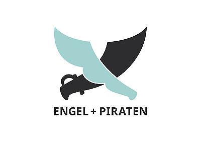 Engel und Piraten Krabbelschuhe