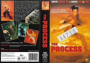 THE-PROCESS-2000-vhs-ex-noleggio