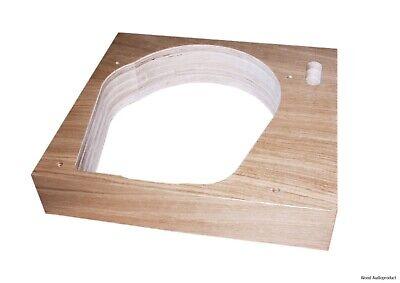 Plinth for Garrard 401 Armboard adjustable 9-12 inches