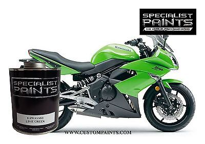 Quart Kit Of Kawasaki   Lime Green  Motorcycle  Automotive  Hotrod  Ppg  Hok