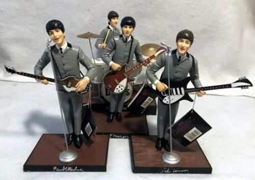 Vintage BEATLES 1991 Apple Corp Hamilton Band Figures Complete Set - NICE