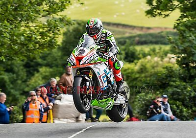 James Hillier 2017 Isle of Man Senior TT A4 photo