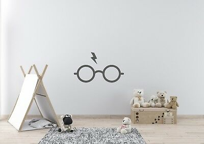 Harry Potter Scar And Glass Inspired Design Home Wall Art Decal Vinyl Sticker