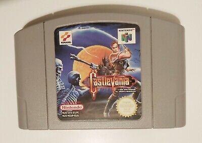 Castlevania Nintendo 64 (N64) - Cart Only - European / PAL Version - Genuine