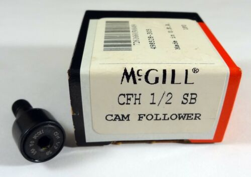 McGill CFH 1/2 SB Cam Follower, Heavy Stud CAMROL Series, New In Box