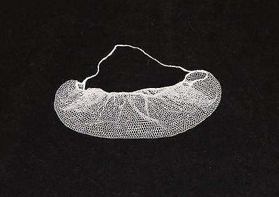 Keystone White Nylon Honeycomb Pattern Beard Net, Bag of 100 (112HPI)