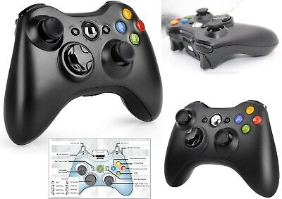 Xbox 360 Controller USB Wireless Game Pad Controller For Microsoft Xbox 360...