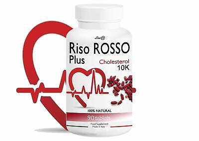 RISO ROSSO PLUS K10 FERMENTATO 90 COMPRESSE TRATTAMENTO PER 3 MESI SI (ShY)