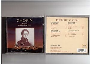 Chopin Sonatas Fred Oldenburg piano 1 x CD Brilliant Classic - <span itemprop='availableAtOrFrom'>internet, Polska</span> - Chopin Sonatas Fred Oldenburg piano 1 x CD Brilliant Classic - internet, Polska