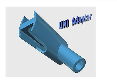 Uni Adapter - Connect Isolite Mouthpieces Directly To Your Suction Saliva Handle