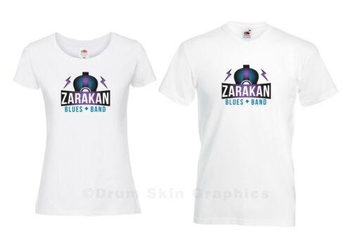 ZARAKAN BLUES BAND OFFICIAL LOGO  LIMITED EDITION T-SHIRTS.