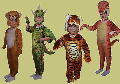 Kostüme Kinder Fasching Kleinkinder Tiger Löwe Drache Dinosaurier 80 90 100 cm
