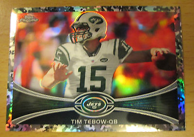 rnfarbe Refraktor #/499 Tim Tebow Florida Gators Denver (Florida Gators Farben)