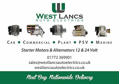 West Lancs Starter Motor Alternator