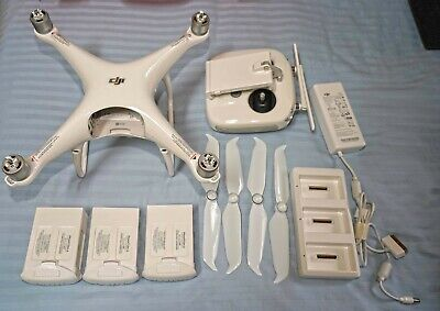 DJI Phantom 4 Pro Drone bundle - extra batteries, props, original box/case