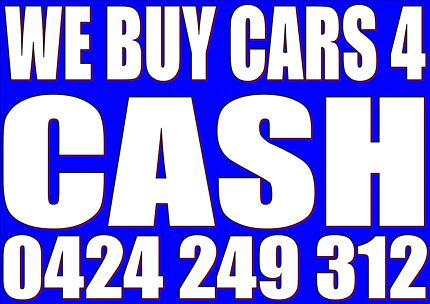 CASH 4 DAMAGED/UNWANTED CARS, UTES, 4WDS, JETSKIS, TRUCKS North Sydney North Sydney Area Preview